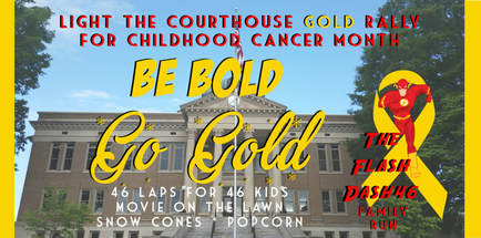 Light the Courthouse Gold & Flash Dash image